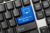 Close-up,View,On,Conceptual,Keyboard,-,Managed,Service,Provider,(blue